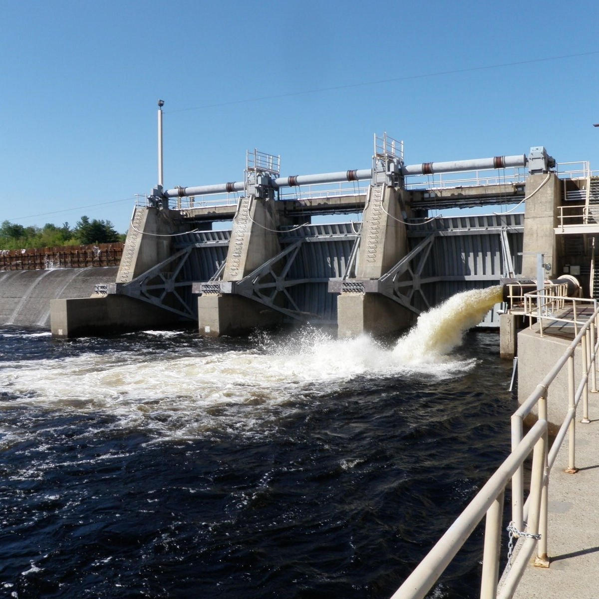 West Enfield Dam in Maine's Penobscot River